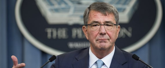 US SECRETARY OF DEFENSE ASHTON CARTER