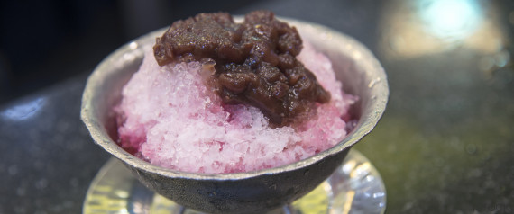 kakigori toppings