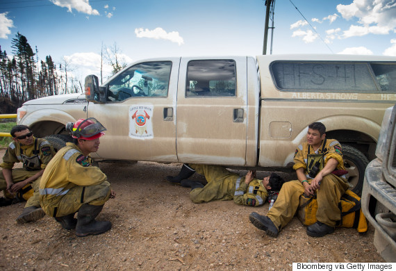 fort mcmurray firefighters