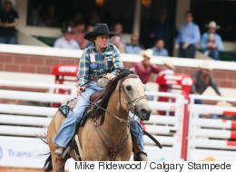 67-Year-Old Barrel Racer Wows Crowd At Calgary Stampede