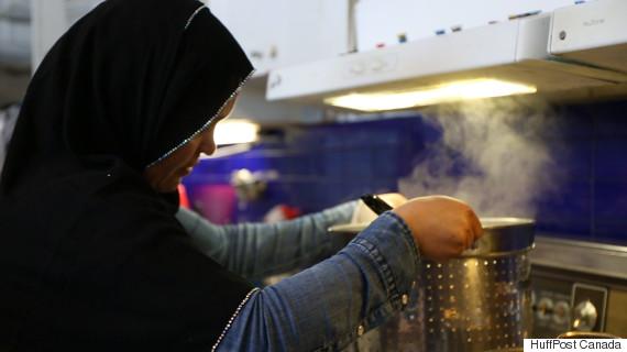 newcomer kitchen syrian