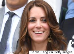 Kate Middleton Wears Skull Print Dress To Wimbledon