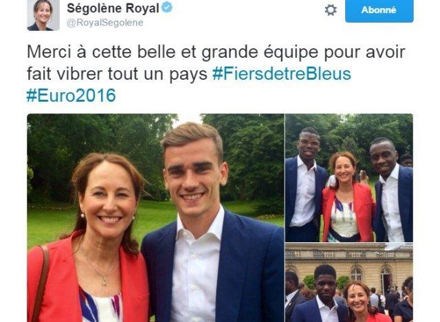 Ces photos de Ségolène Royal ont passablement agacé Cécile Duflot