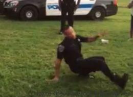 Ce policier en démonstration de breakdance donne le bon exemple