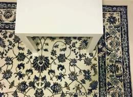 Saurez-vous trouver le téléphone caché sur ce tapis?