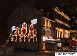 L'histoire de Montréal en images et paroles dans les rues