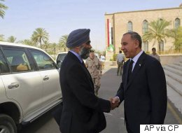 Sajjan Talks ISIS Fight With Counterparts In Iraq