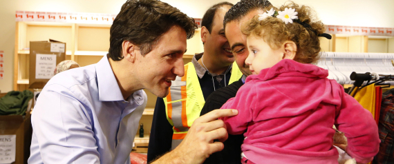CANADIAN PRIME MINISTER SYRIAN REFUGEES