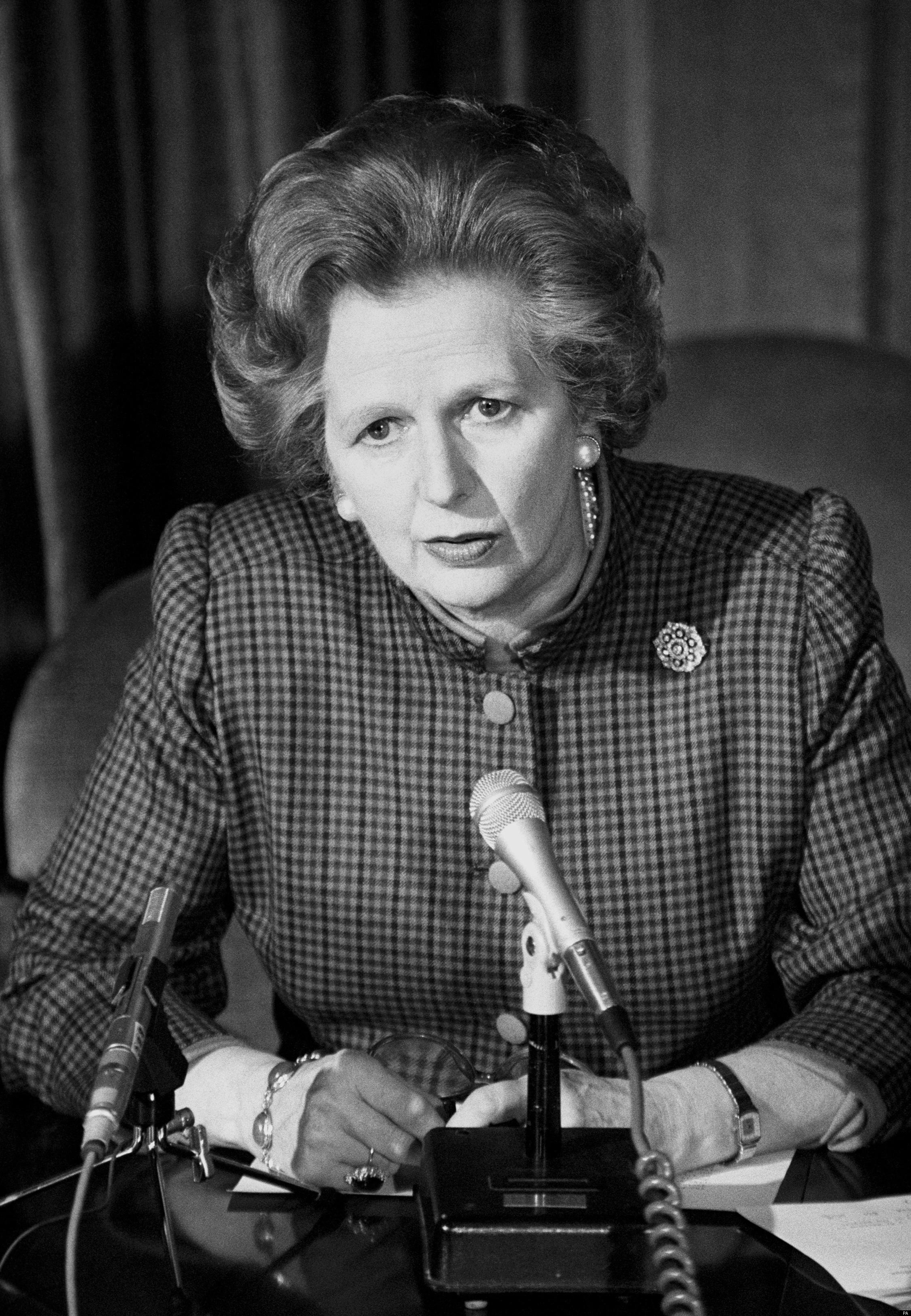 Margaret Thatcher Iron Lady Archives Reveal Behind The ...