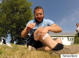 Un père québécois utilise un drone pour s'épiler. Pour aucune bonne raison.
