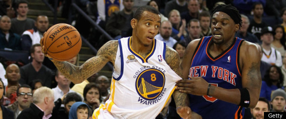 GOLDEN STATE WARRIORS KNICKS