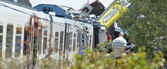ACCIDENT TRAINS ITALIE