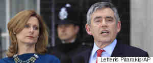 GORDON BROWN DOWNING STREET