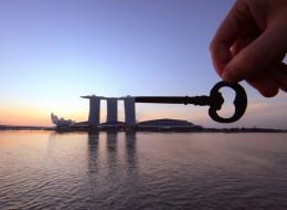 Il transforme les monuments du monde entier avec des bouts de papier (PHOTOS)