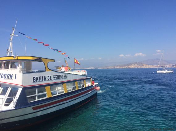 barco benidorm