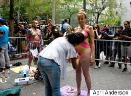 This Is Me Having My Naked Body Painted In Public At Age 60