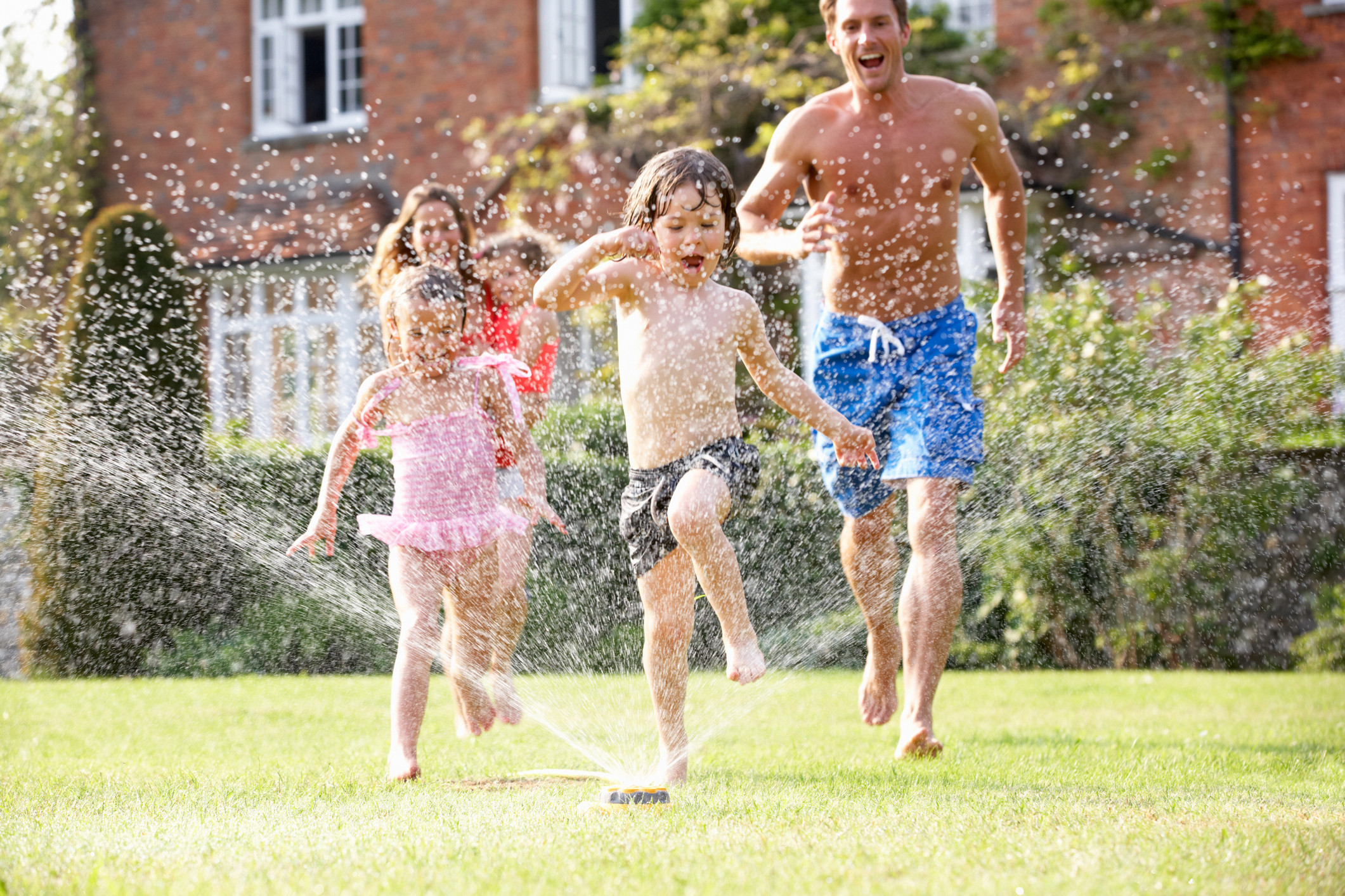 family sprinkler