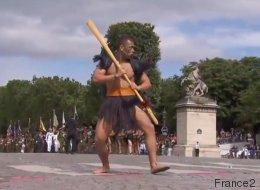 Armés de leur Taiaha, les guerriers Maoris font forte impression