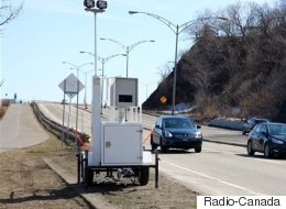 Mise en service de 15 nouveaux radars photo au Québec