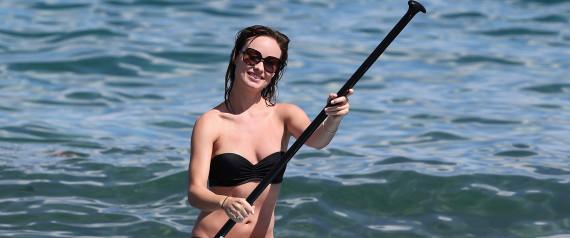 OLIVIA WILDE PADDLE SURF