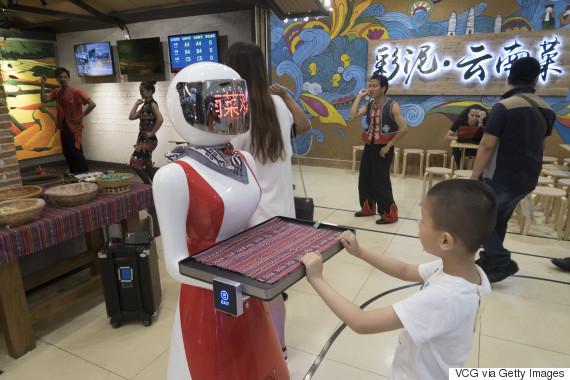 robot jobs china