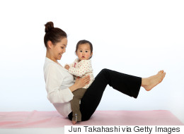 The Full Body Workout You Can Do With Your Baby