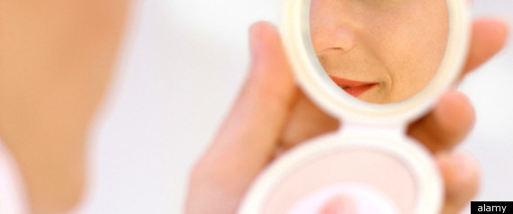 Midwife Delivers With Makeup Mirror