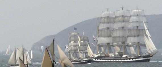 BREST FRANCE SHIP