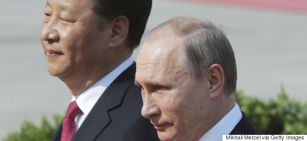 From the Baltic to the South China Sea, Russia and China See One Foe -- the U.S.