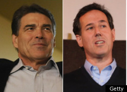 Rick Santorum Rick Perry