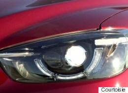 Les phares de VUS compacts ne sont pas assez sécuritaire dit l'IIHS