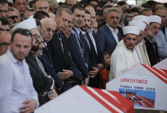 erdogan funeral