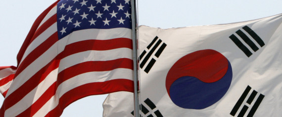 US KOREA FLAG