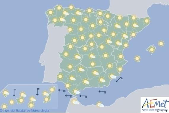 el tiempo mapa de españa 18 julio