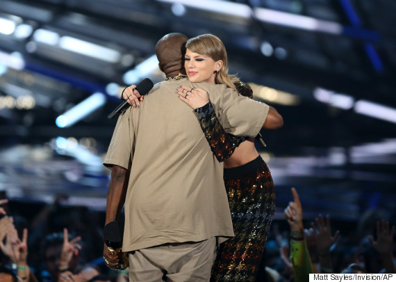2015 vma taylor swift kanye west
