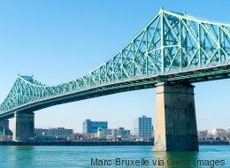 Aménagement aux abords du pont Jacques-Cartier