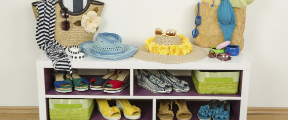 BEACH ACCESSORIES SHELF