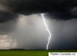 Avertissement d'orages violents dans le sud du Québec