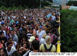 This Is What A Grocery Lineup Looks Like In Venezuela