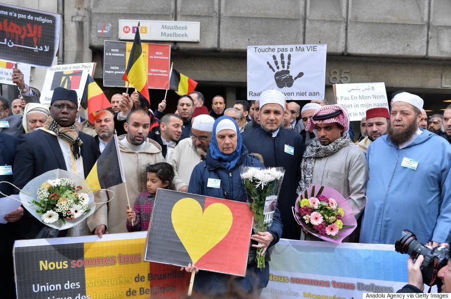 brussels attack muslim