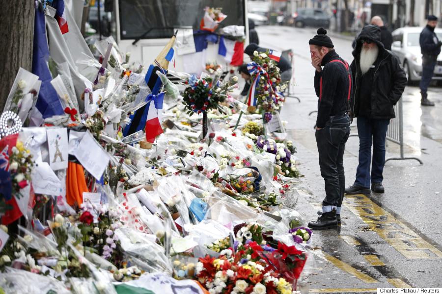 paris attack mourning