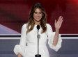 Acusan a la mujer de Trump de plagiar en su discurso a Michelle Obama