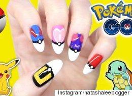 Les plus belles manucures inspirées de Pokémon Go