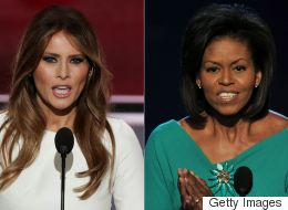 Trump Campaign Denies Melania Stole Parts Of Michelle Obama's Speech