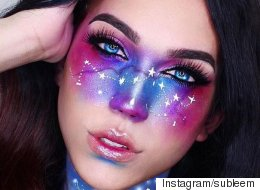 Le maquillage galaxie prend d'assaut Instagram