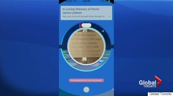 boy memorial pokestop