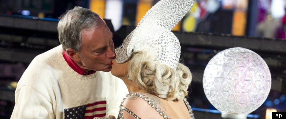 Lady Gaga Mayor Bloomberg