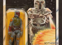 Una figura del personaje de 'Star Wars' Boba Fett se vende por 31.000 euros
