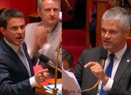 Échange tendu entre Valls et Wauquiez dans l'hémicycle