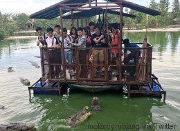 Cette ferme aux crocodiles a dû fermer à cause de cette photo